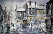 Chimneys Originals - French Rain by John D Mabry