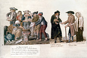 French Revolution Prints - French Revolution, 1795-96 Print by Granger