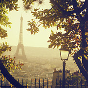 Travel Destinations Photo Prints - French Romance Print by by Smaranda Madalina Cheregi