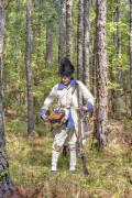 Reenactment Posters - French Soldier Fort Ligonier Pennsylvania Poster by Randy Steele