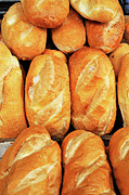 Food And Drink Art - French style bread by Sami Sarkis