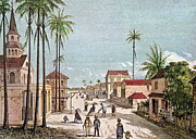 Antilles Framed Prints - French West Indies Framed Print by Granger