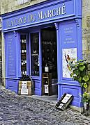 Bordeaux Framed Prints - French Wine store Framed Print by Mark Coran