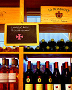 Languedoc Digital Art Prints - French Wines Print by Timothy Bulone