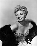 Bare Shoulder Framed Prints - Frenchie, Shelley Winters, 1950 Framed Print by Everett