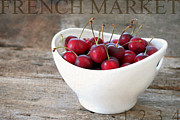 Ripe Photos - Fresh Cherries by Darren Fisher