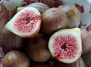 Figs Prints - Fresh Figs Print by Racquel Morgan