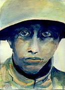 World War One Paintings - Fresh from the Front Line by Andrew Gillette