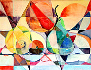 Abstract Drawings - Fresh Fruit by Mindy Newman