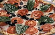 Outdoor Dining Prints - Fresh Italian Pizza At Patrizio Print by Richard Nowitz