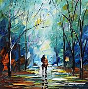 Woods Painting Originals - Fresh Love by Leonid Afremov