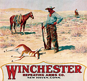Winchester Posters - Fresh Meat For The Outfit Poster by A B Frost