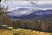 Montgomery Vermont Framed Prints - Fresh Snow Framed Print by Deborah Benoit