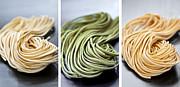 Fresh Tagliolini Pasta Print by Elena Elisseeva
