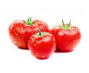 Red Delicious Prints - Fresh Tomato Print by Setsiri Silapasuwanchai