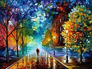 Afremov Art - Freshness of Cold by Leonid Afremov