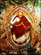 Fresco Framed Prints - Fresque de Jesus Christ Framed Print by Susie Weaver