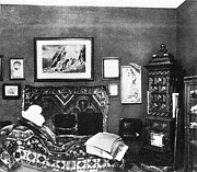 Freud Art - Freuds Consulting Room by Science Source