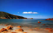 Freycinet Posters - Freycinet Peninsula In Tasmania Poster by Photo Art by Mandy