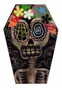 Gothic Surreal Prints - Frida in a Coffin Print by  Abril Andrade Griffith