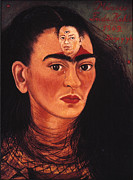 Rivera Framed Prints - Frida Kahlo (1907-1954) Framed Print by Granger