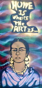 Oppression Painting Framed Prints - Frida Kahlo Framed Print by Tony B Conscious