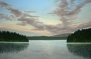 San Juan Pastels - Friday Harbor Sunrise by Carl Capps
