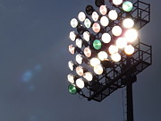 Ballgame Prints - Friday Night Lights Print by Chad Thompson