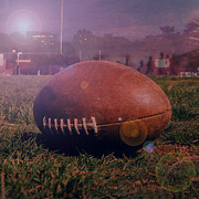 Pigskin Prints - Friday Night Lights Print by Joel Witmeyer