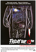 1980 Posters - Friday The 13th, 1980 Poster by Everett