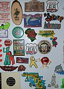 Popart Digital Art Originals - Fridge Magnets by Rob Hans