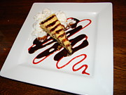 Raspberry Photo Originals - Fried Cheesecake Desert by Warren Thompson