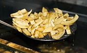 Chippy Photos - Fried Potato Chips by Martyn F. Chillmaid
