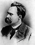 Critical Prints - Friedrich Wilhelm Nietzsche, German Print by Omikron