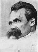 Paralyzed Framed Prints - Friedrich Wilhelm Nietzsche, German Framed Print by Photo Researchers