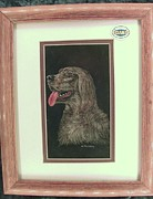 Friendly Mixed Media - Friendly Dog by Josephine Mulalley