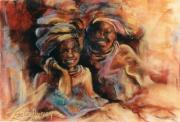 Material Pastels - Friends by Estelle Hartley
