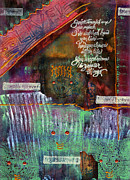 African-american Mixed Media - Friends Forever by Angela L Walker