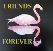 Special Occasion Painting Posters - Friends Forever Poster by Eric Kempson