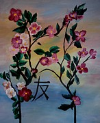 Boxer Paintings - Friendship Blooms by Maria Urso
