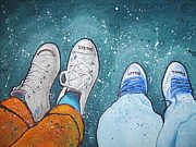 Converse Paintings - Friendship by Jan Farthing