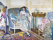 Dressing Room Prints - Frieseke: In The Boudoir Print by Granger