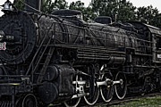 Fort Smith Arkansas Prints - Frisco Train Locomotive Print by Ms Judi