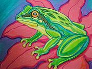 Nick Gustafson - Frog on flower