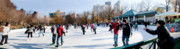 Rink Photos - Frog Pond Skating Rink Boston by Thomas Marchessault