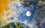 Space Exploration Originals - From A Distance by Tina Swindell