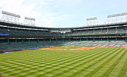Friendly Confines Prints - From Center Print by David Bearden