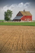 Sat Digital Art - From Crop to Barn by Melisa Meyers