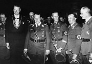 Goering Photos - From Left, Nazi Officials Georg Von by Everett