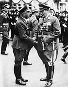 Goering Photos - From Left, Publisher Of Der Stuermer by Everett
